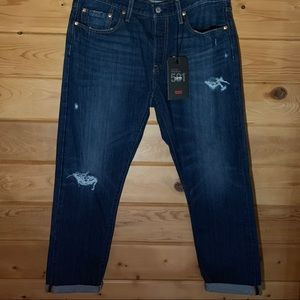 NWT Levi's 501 Tapered Button Fly Jeans 32 x 28